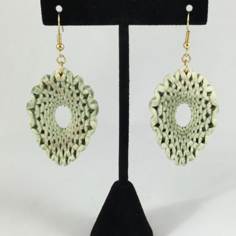 X Drop Earrings